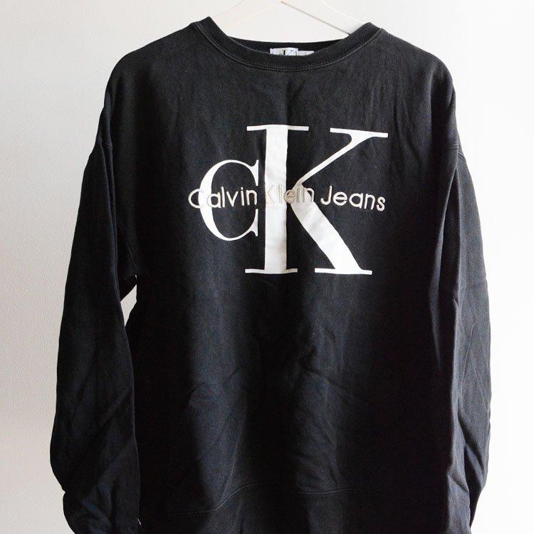 カルバンクライン ヴィンテージ スウェット 90年代 黒   Calvin Klein Vintage Sweat 90s Black Ck