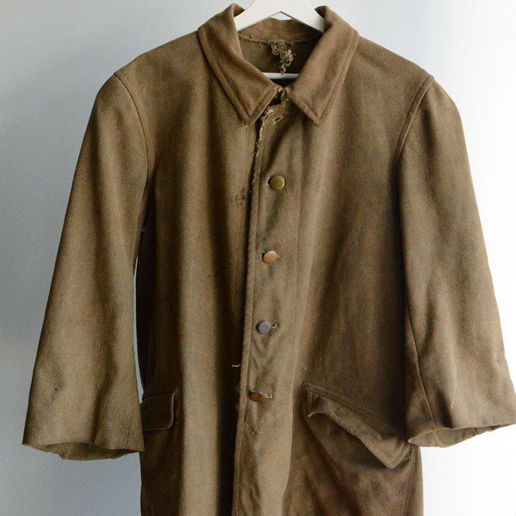 九八式外套 ミリタリーコート 旧日本軍 ジャパンヴィンテージ 40年代 検定印無し   Japanese Military Coat Vintage 40s 98 Style