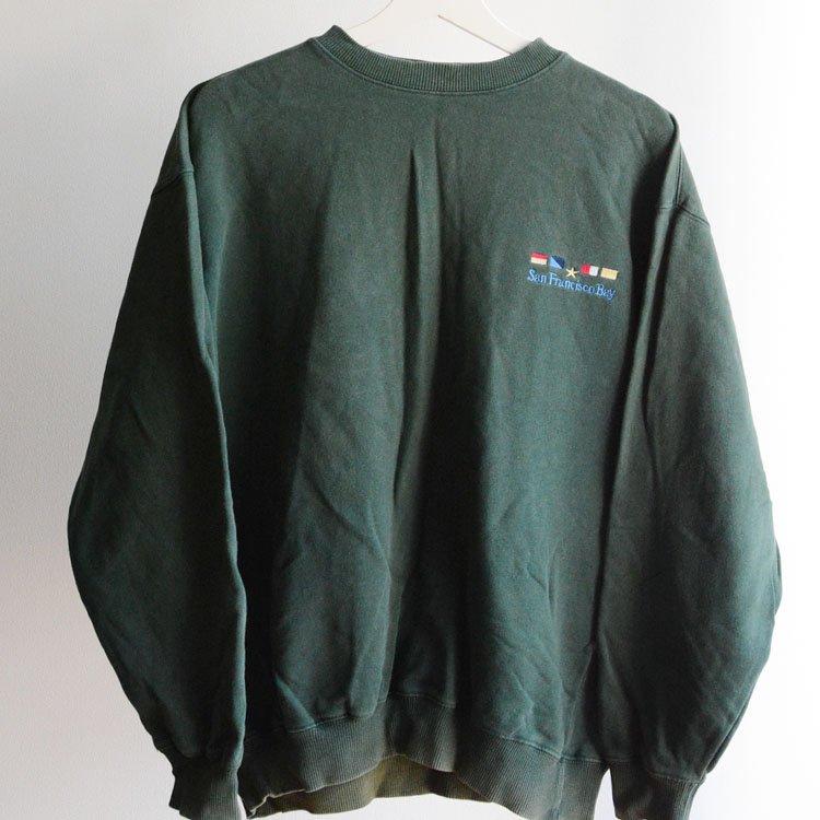 ヴィンテージ スウェット 刺繍 90〜2000年代 コットン サンフランシスコ湾   90〜00s Embroidery Sweat San Francisco Bay