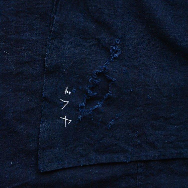 古布 藍染 木綿 無地 襤褸 ジャパンヴィンテージ 大正〜昭和 風呂敷 | Indigo Fabric Japanese Vintage Boro Cotton Furoshiki Cloth