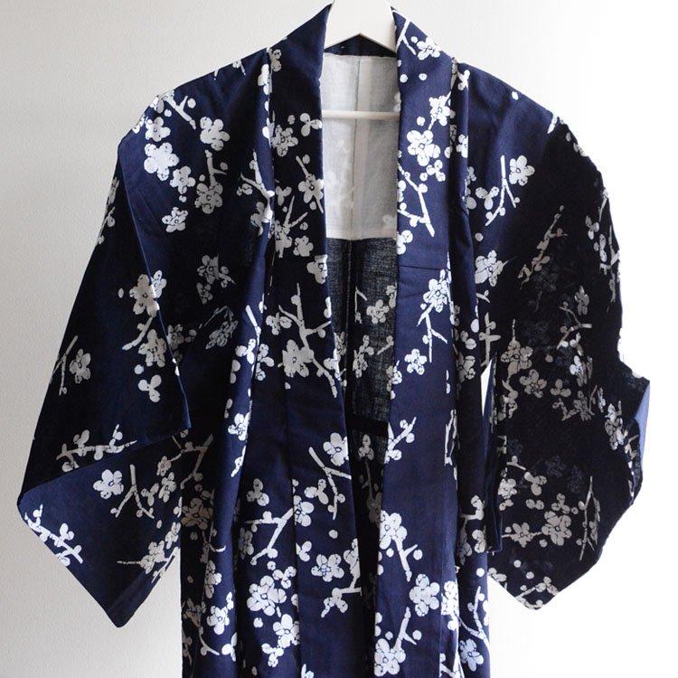 <img class='new_mark_img1' src='https://img.shop-pro.jp/img/new/icons8.gif' style='border:none;display:inline;margin:0px;padding:0px;width:auto;' />浴衣 着物 木綿 花柄 ジャパンヴィンテージ 60年代   Yukata Kimono Japan Vintage Cotton Floral Pattern