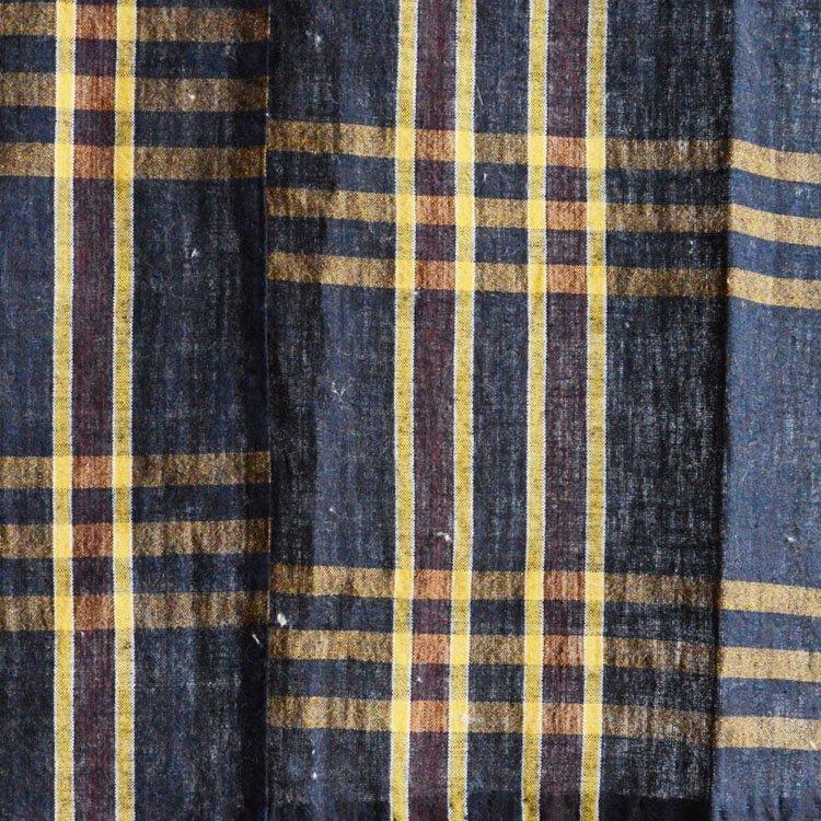 <img class='new_mark_img1' src='https://img.shop-pro.jp/img/new/icons8.gif' style='border:none;display:inline;margin:0px;padding:0px;width:auto;' />古布 藍染 布団皮 木綿 ジャパンヴィンテージ ファブリック テキスタイル   Japanese Fabric Vintage Indigo Aizome Cotton Futongawa