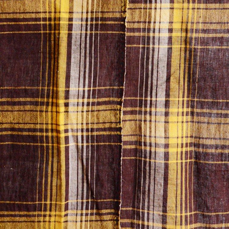 古布 布団皮 木綿 ジャパンヴィンテージ ファブリック テキスタイル   Japanese Fabric Vintage Cotton Futongawa 30s