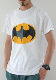 1980年代 ヴィンテージ BATMAN バットマン ロゴ Tシャツ 白 1980s Vintage Royal Batman T-Shirt White