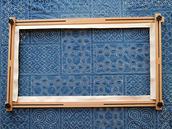 四角型フープ枠600×1000(タマラック材)
