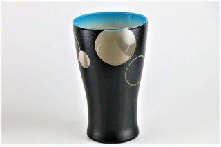 グラデーション グラス(大)ブルー/サークル