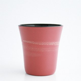 フリーカップ小 さくら(内側:黒)