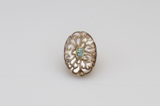 Arabesque SV brooch