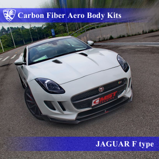 JAGUAR F-type Kerberos K'sスタイル 3D Real Carbon カーボンファイバーボディキット 5点キット
