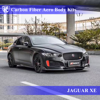 JAGUAR XE Kerberos K'sスタイル 3D Real Carbon カーボンファイバーボディキット 5点キット