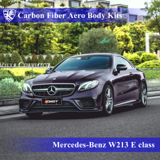 Mercedes-Benz W213 E200/300/400 クーペスポーツ 前期 Kerberos K'sスタイル 3D Real Carbon カーボンファイバーボディキット 7点キット
