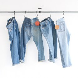 sunny side up [サニーサイドアップ] ''Remake 2 For 1 Denim 5P Blue'' (MEN'S & LADIES')<img class='new_mark_img2' src='https://img.shop-pro.jp/img/new/icons24.gif' style='border:none;display:inline;margin:0px;padding:0px;width:auto;' />