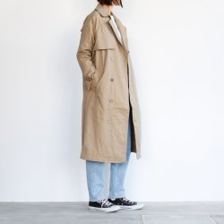 UNIVERSAL TISSU [ユニヴァーサルティシュ] / TISSU [ティシュ] ''HIGH DENSITY EFFORTLESS TRENCH'' (LADIES')<img class='new_mark_img2' src='https://img.shop-pro.jp/img/new/icons13.gif' style='border:none;display:inline;margin:0px;padding:0px;width:auto;' />
