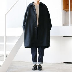 Honnete [オネット] ''Round Collar Coat'' (LADIES')<img class='new_mark_img2' src='https://img.shop-pro.jp/img/new/icons13.gif' style='border:none;display:inline;margin:0px;padding:0px;width:auto;' />