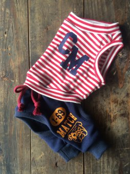 CHICK COLLEGE SWEAT  Cover-all NAVY