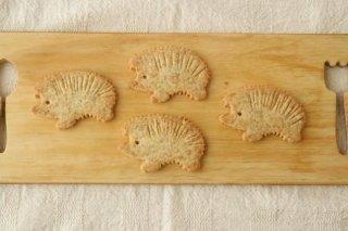 ハリネズミクッキー(阿部さんの全粒粉)