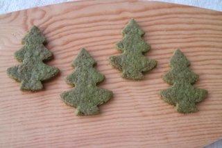 森クッキー(抹茶)