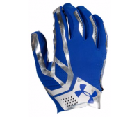 UNDER ARMOUR SPOTLIGHT FOOTBALL GLOVES ブルー