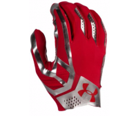 UNDER ARMOUR SPOTLIGHT FOOTBALL GLOVES レッド