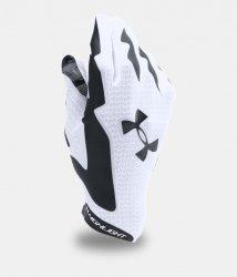 UNDER ARMOUR HIGHLIGHT FOOTBALL GLOVES ホワイト・ブラック