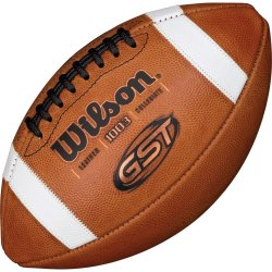 WILSON GST OFFICIAL COMPOSITE FOOTBALL