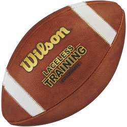 WILSON LACELESS TRAINING FOOTBALL