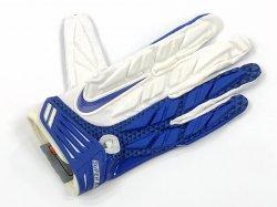 Lサイズ NIKE SUPERBAD PADDED FOOTBALL GLOVES ホワイト・ブルー