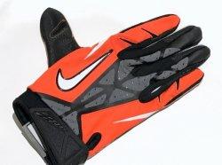 XLサイズ NIKE NCAA VAPOR JET 2.0 GLOVES オレンジ・ブラック