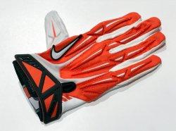 Lサイズ NIKE SUPERBAD2.0 PADDED FOOTBALL GLOVES オレンジ
