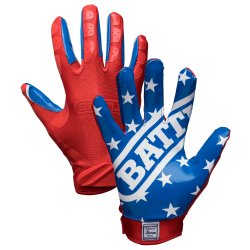 Battle Ultra-Stick Receiver Gloves アメリカンフラッグ