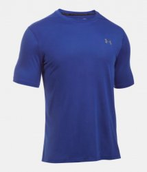 UNDER ARMOUR THREADBORNE ショートスリーブシャツ ブルー
