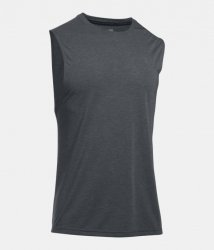 UNDER ARMOUR THREADBORNE スリーブレスシャツ ブラック