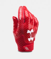 UNDER ARMOUR SPOTLIGHT 2017 FOOTBALL GLOVES レッド