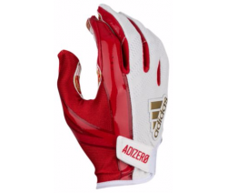 ADIDAS 5-STAR 6.0 RECEIVER GLOVES レッド・ペーズリー