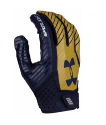 UNDER ARMOUR SPOTLIGHT 2017 FOOTBALL GLOVES ネイビー・ゴールド