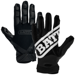 BATTLE ユース Ultra-Stick Receiver Gloves ブラック