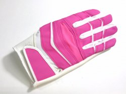 Lサイズ CUTTERS NFL X40 C-TACK Revolution ピンク・ホワイト