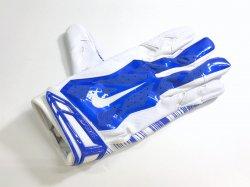 Lサイズ NIKE NFLVAPOR JET 3.0 FOOTBALL GLOVES ブルー・ホワイト