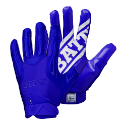 BATTLE HYBRID FOOTBALL GLOVES ブルー