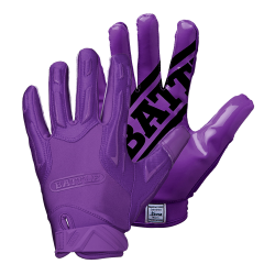 BATTLE HYBRID FOOTBALL GLOVES パープル