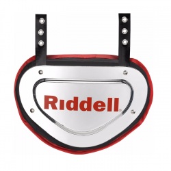 RIDDELL POWER クローム バックプレート