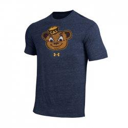 CAL BEARS UA スローバックロゴ ショートスリーブシャツ