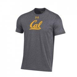 CAL BEARS UA スクールロゴ ショートスリーブシャツ  グレー