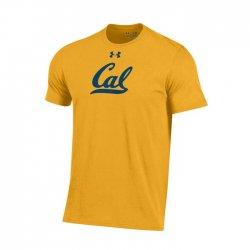 CAL BEARS UA スクールロゴ ショートスリーブシャツ  イエロー