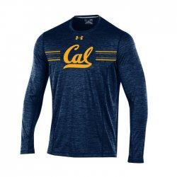 CAL BEARS UA 2017 サイドライン ロングスリーブシャツ ネイビー