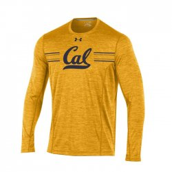 CAL BEARS UA 2017 サイドライン ロングスリーブシャツ イエロー