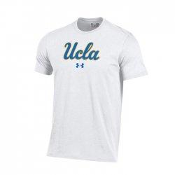 UCLA BRUINS UA スクールロゴ ショートスリーブシャツ  ホワイト