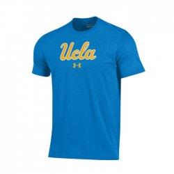 UCLA BRUINS UA スクールロゴ ショートスリーブシャツ  ライトブルー