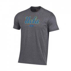 UCLA BRUINS UA スクールロゴ ショートスリーブシャツ グレー