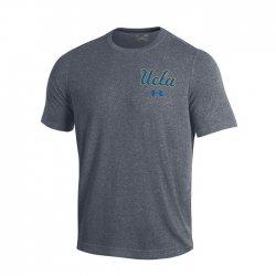 UCLA BRUINS UA スレッドボーン ショートスリーブシャツ グレー